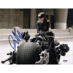 Autographe de Anne Hathaway...