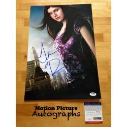 Autographe de ALEXANDRA...