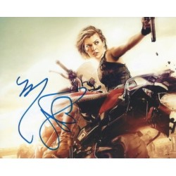 Autographe de Milla...