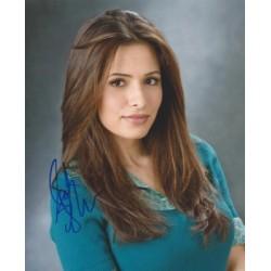 Autographe de Sarah SHAHI