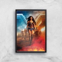 DC Wonder Woman Giclee Art...