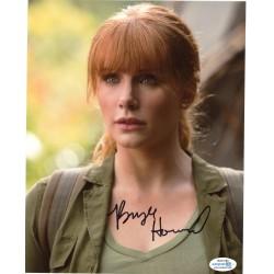 Autographe de Bryce Dallas...